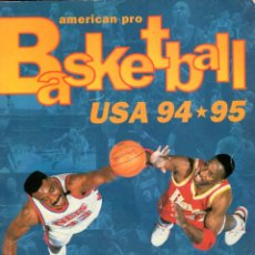 Coleccionismo deportivo: BASKETBALL USA 94 * 95 *** ALBÚM DE CROMOS INCOMPLETO FALTA 39 CROMOS. Lote 206831231