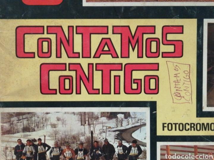 Coleccionismo deportivo: Album de cromos Completo CONTAMOS CONTIGO - Foto 4 - 207324041