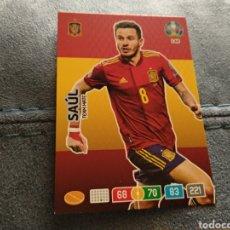 Coleccionismo deportivo: SAÚL (ESPAÑA) CARD NÚMERO 148 EURO 2020. Lote 207480642