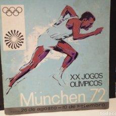 Collezionismo sportivo: ALBUM DE CROMOS JUEGOS OLIMPICOS MUNICH 72 COMPLETO DISTRIBUIDO POR PANINI EN OTROS PAISES. Lote 207541446