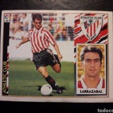 Collezionismo sportivo: LARRAZÁBAL ATHLETIC DE BILBAO. ESTE 1997-1998 97 98. SIN PEGAR. VER FOTOS DE FRONTAL Y TRASERA. Lote 207992928