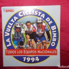 Coleccionismo deportivo: ÁLBUM DE CROMOS. LA VUELTA CICLISTA DE BIMBO 1994 . INCOMPLETO. BIMBO. SOLO FALTAN 6 CROMOS. Lote 209168210
