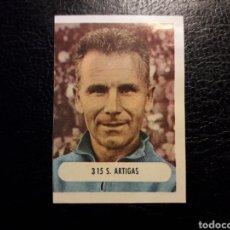 Coleccionismo deportivo: S. ARTIGAS ENTRENADOR N° 315 RUIZ ROMERO 1971/1972 71/72. DESPEGADO. VER FOTOS DE FRONTAL Y TRASERA. Lote 210531378