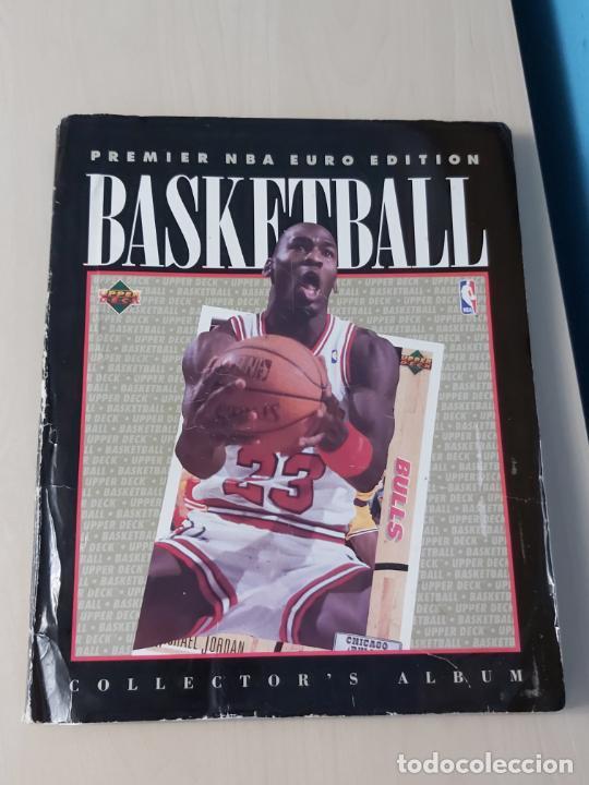 Coleccionismo deportivo: Album NBA 91-92 Upper Deck completo con los hologramas + 2 sobres de regalo - JORDAN - Foto 3 - 211260212