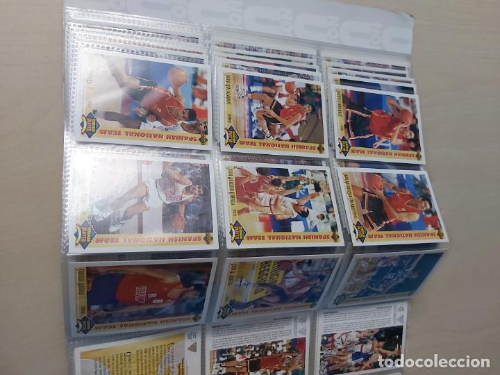 Coleccionismo deportivo: Album NBA 91-92 Upper Deck completo con los hologramas + 2 sobres de regalo - JORDAN - Foto 9 - 211260212
