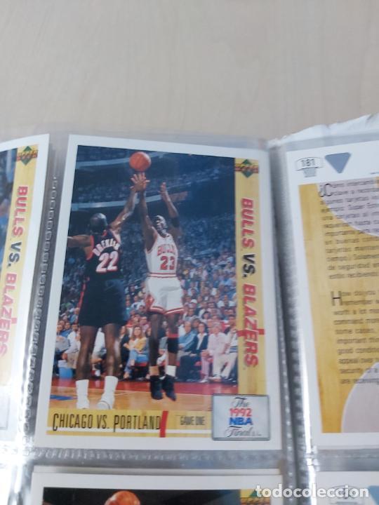 Coleccionismo deportivo: Album NBA 91-92 Upper Deck completo con los hologramas + 2 sobres de regalo - JORDAN - Foto 11 - 211260212