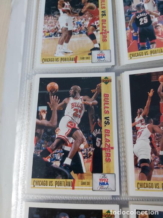 Coleccionismo deportivo: Album NBA 91-92 Upper Deck completo con los hologramas + 2 sobres de regalo - JORDAN - Foto 12 - 211260212