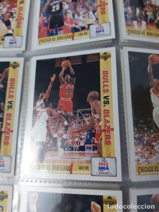 Coleccionismo deportivo: Album NBA 91-92 Upper Deck completo con los hologramas + 2 sobres de regalo - JORDAN - Foto 13 - 211260212