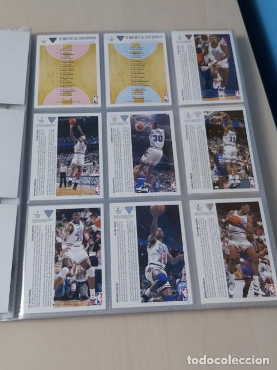 Coleccionismo deportivo: Album NBA 91-92 Upper Deck completo con los hologramas + 2 sobres de regalo - JORDAN - Foto 16 - 211260212