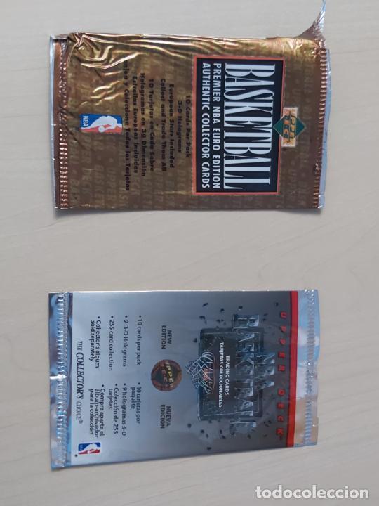 Coleccionismo deportivo: Album NBA 91-92 Upper Deck completo con los hologramas + 2 sobres de regalo - JORDAN - Foto 18 - 211260212