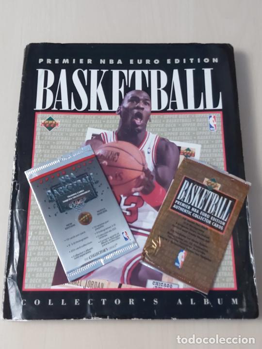 ALBUM NBA 91-92 UPPER DECK COMPLETO CON LOS HOLOGRAMAS + 2 SOBRES DE REGALO - JORDAN (Coleccionismo Deportivo - Álbumes otros Deportes)