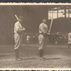 Coleccionismo deportivo: FOTOGRAFÍA DE BABE RUTH Y TY COBB DE 1920.. Lote 211450215