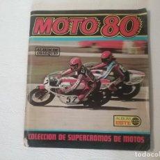 Coleccionismo deportivo: ALBUM ESTE MOTOS 80. Lote 211696105