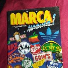Coleccionismo deportivo: ALBUM DE CROMOS MARCA MANIA CASI COMPLETO A FALTA DE 1 CROMO. Lote 211728574