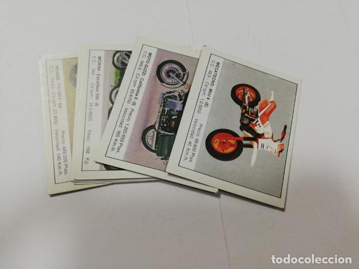 LOTE DE 8 CROMOS. MOTOS. EDICIONES UNIDAS. 1987. DIFERENTES. VER FOTOS. (Coleccionismo Deportivo - Álbumes otros Deportes)