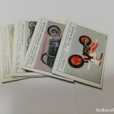 Coleccionismo deportivo: LOTE DE 8 CROMOS. MOTOS. EDICIONES UNIDAS. 1987. DIFERENTES. VER FOTOS.. Lote 211774350