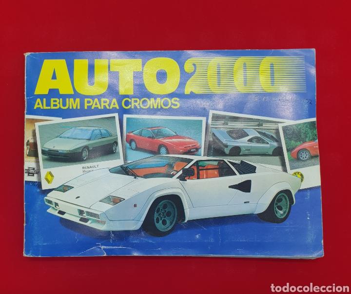 ALBUN CROMOS AUTO 2000 . FALTAN LOS NUMEROS 8,14,15,51,136 Y 152 (Coleccionismo Deportivo - Álbumes otros Deportes)