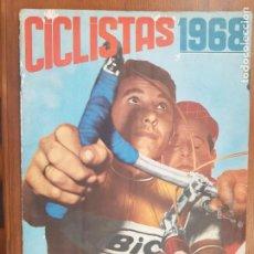 Coleccionismo deportivo: ÁLBUM CROMOS CICLISTAS 1968 LAIDA 95% COMPLETO VUELTA ESPAÑA. Lote 211809407