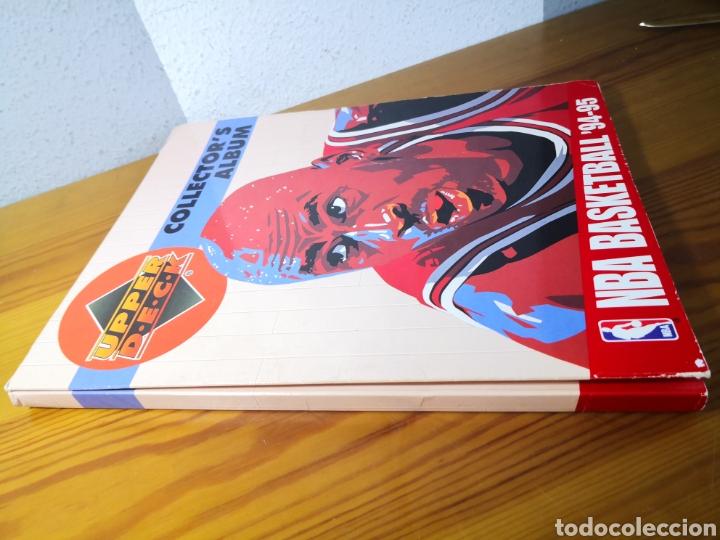 Coleccionismo deportivo: ALBUM NBA BASKETBALL 94-95 UPPER DECK CASI COMPLETO CON 3 CROMOS DE JORDAN - Foto 2 - 212516333