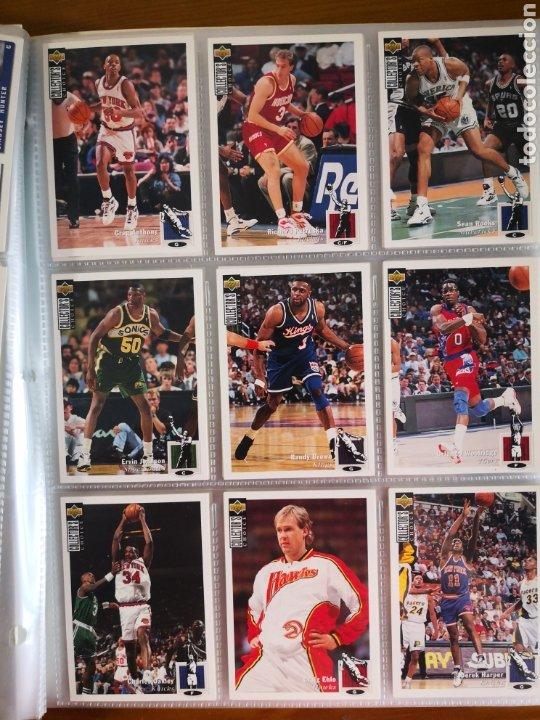 Coleccionismo deportivo: ALBUM NBA BASKETBALL 94-95 UPPER DECK CASI COMPLETO CON 3 CROMOS DE JORDAN - Foto 8 - 212516333