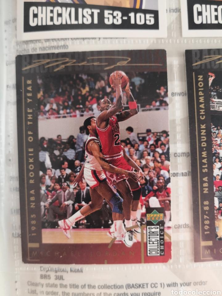 Coleccionismo deportivo: ALBUM NBA BASKETBALL 94-95 UPPER DECK CASI COMPLETO CON 3 CROMOS DE JORDAN - Foto 10 - 212516333