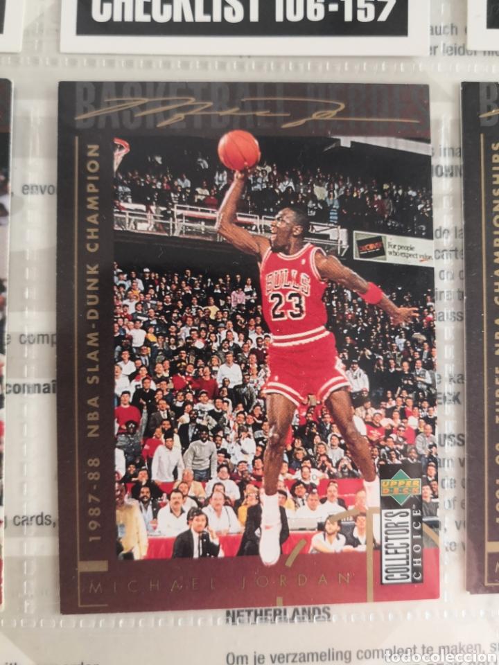 Coleccionismo deportivo: ALBUM NBA BASKETBALL 94-95 UPPER DECK CASI COMPLETO CON 3 CROMOS DE JORDAN - Foto 11 - 212516333