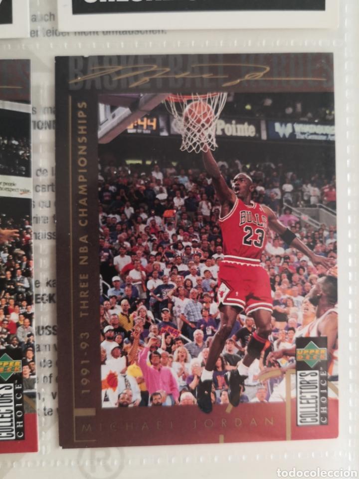 Coleccionismo deportivo: ALBUM NBA BASKETBALL 94-95 UPPER DECK CASI COMPLETO CON 3 CROMOS DE JORDAN - Foto 12 - 212516333