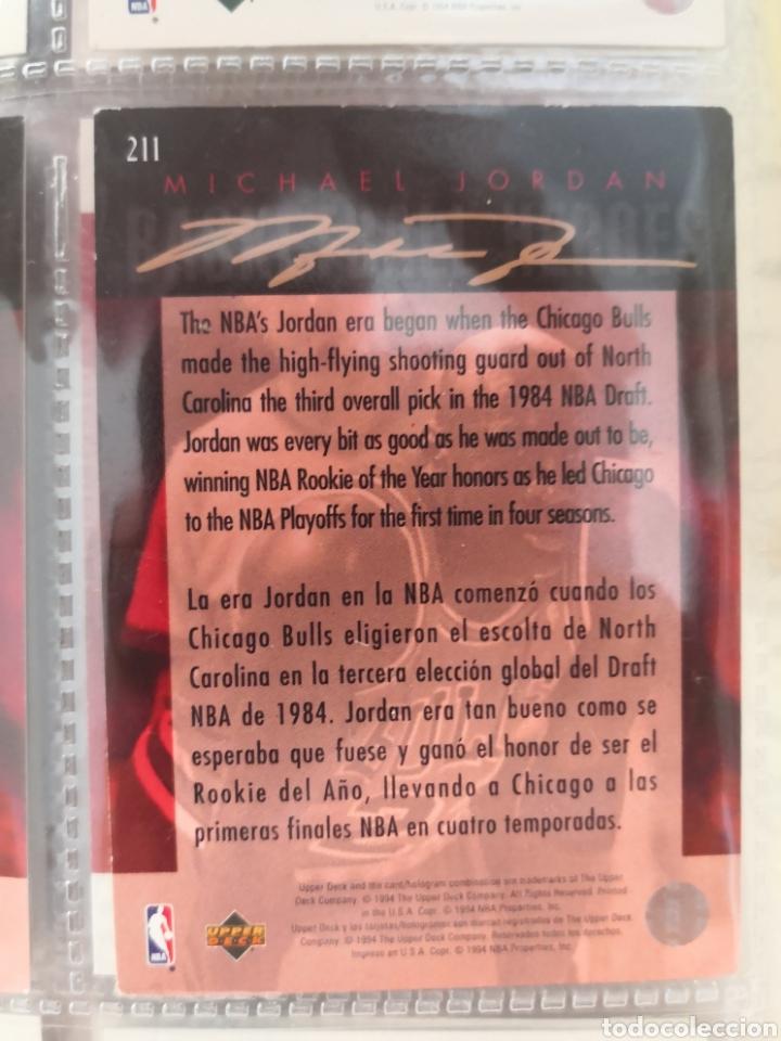 Coleccionismo deportivo: ALBUM NBA BASKETBALL 94-95 UPPER DECK CASI COMPLETO CON 3 CROMOS DE JORDAN - Foto 15 - 212516333
