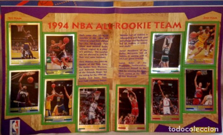 Coleccionismo deportivo: Album completo - Basketball NBA 94 95 1994 1995 - Panini - Buen estado ver fotos - Foto 3 - 212683952