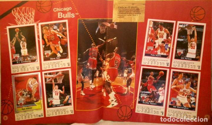 Coleccionismo deportivo: Album completo - Basketball NBA 94 95 1994 1995 - Panini - Buen estado ver fotos - Foto 4 - 212683952