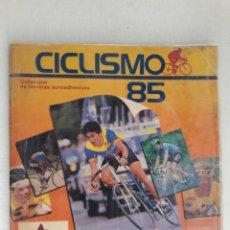 Coleccionismo deportivo: CICLISMO 85 COLOMBIA ANTIGUO ALBUM GENUINO DE COLECCION LLENO COMPLETO RAREZA. Lote 212851290