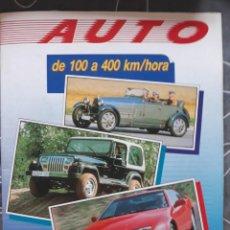 Coleccionismo deportivo: ALBUM COMPLETO AUTO DE 100 A 400 KM POR HORA PANINI 1990 PERFECTO. Lote 213174013