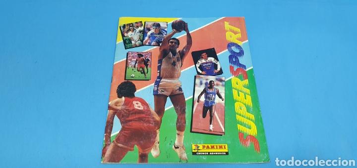 ÁLBUM - SUPERSPORT - BALONCESTO NBA - ATLETISMO - FUTBOL - MOTOR - CICLISMO Y TENIS, AÑOS 80 (Coleccionismo Deportivo - Álbumes otros Deportes)