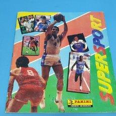 Coleccionismo deportivo: ÁLBUM - SUPERSPORT - BALONCESTO NBA - ATLETISMO - FUTBOL - MOTOR - CICLISMO Y TENIS, AÑOS 80. Lote 213225052