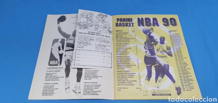 Coleccionismo deportivo: ÁLBUM NBA 90 - PANINI BASKET - PANINI - Foto 3 - 262475620