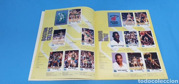 Coleccionismo deportivo: ÁLBUM NBA 90 - PANINI BASKET - PANINI - Foto 4 - 262475620