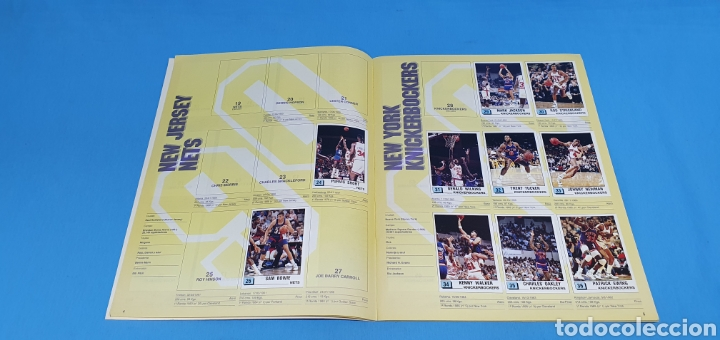 Coleccionismo deportivo: ÁLBUM NBA 90 - PANINI BASKET - PANINI - Foto 5 - 262475620