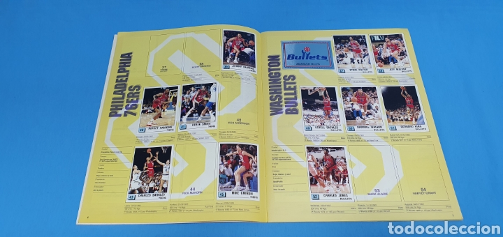 Coleccionismo deportivo: ÁLBUM NBA 90 - PANINI BASKET - PANINI - Foto 6 - 262475620