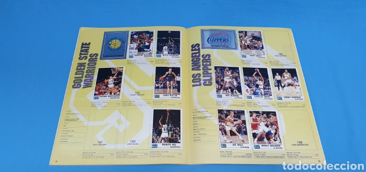 Coleccionismo deportivo: ÁLBUM NBA 90 - PANINI BASKET - PANINI - Foto 14 - 262475620