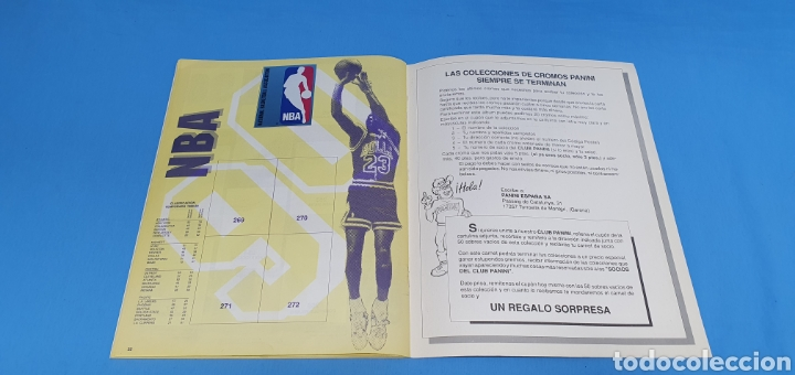 Coleccionismo deportivo: ÁLBUM NBA 90 - PANINI BASKET - PANINI - Foto 19 - 262475620