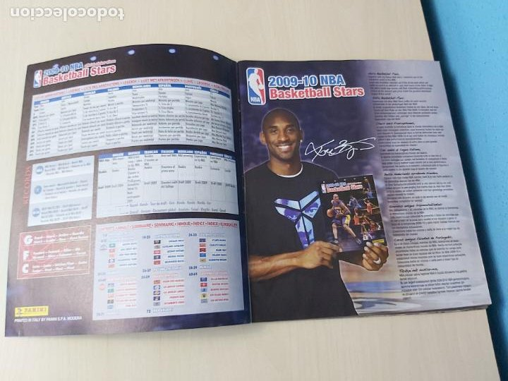 Coleccionismo deportivo: ALBUM BASKETBALL STARS 2009 10 NBA PANINI - INCOMPLETO MUY BUEN ESTADO - Foto 2 - 213446461