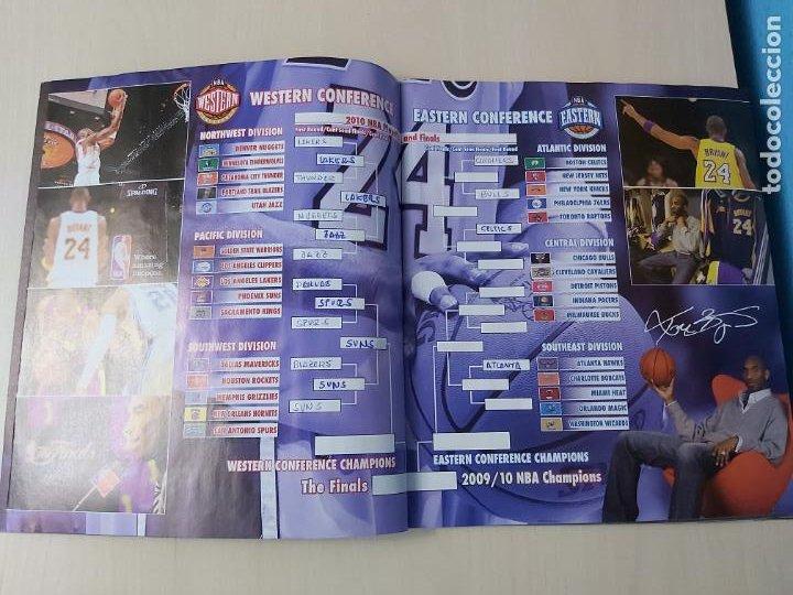 Coleccionismo deportivo: ALBUM BASKETBALL STARS 2009 10 NBA PANINI - INCOMPLETO MUY BUEN ESTADO - Foto 3 - 213446461