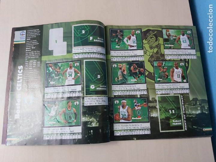 Coleccionismo deportivo: ALBUM BASKETBALL STARS 2009 10 NBA PANINI - INCOMPLETO MUY BUEN ESTADO - Foto 4 - 213446461