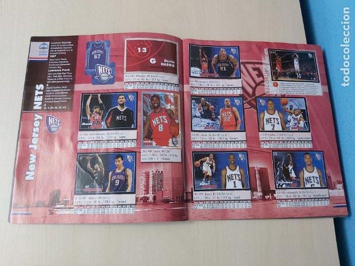 Coleccionismo deportivo: ALBUM BASKETBALL STARS 2009 10 NBA PANINI - INCOMPLETO MUY BUEN ESTADO - Foto 5 - 213446461