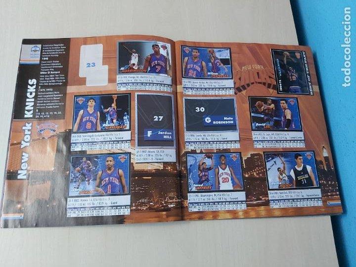 Coleccionismo deportivo: ALBUM BASKETBALL STARS 2009 10 NBA PANINI - INCOMPLETO MUY BUEN ESTADO - Foto 6 - 213446461