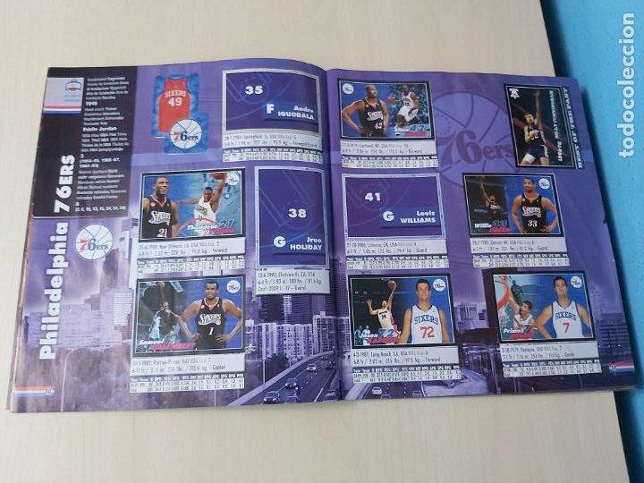 Coleccionismo deportivo: ALBUM BASKETBALL STARS 2009 10 NBA PANINI - INCOMPLETO MUY BUEN ESTADO - Foto 7 - 213446461