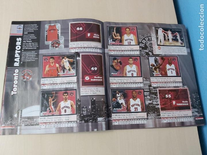 Coleccionismo deportivo: ALBUM BASKETBALL STARS 2009 10 NBA PANINI - INCOMPLETO MUY BUEN ESTADO - Foto 8 - 213446461