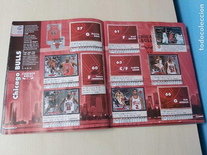 Coleccionismo deportivo: ALBUM BASKETBALL STARS 2009 10 NBA PANINI - INCOMPLETO MUY BUEN ESTADO - Foto 9 - 213446461