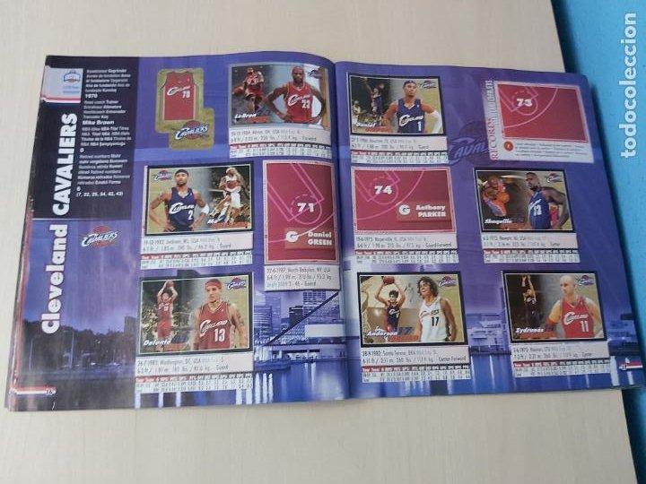 Coleccionismo deportivo: ALBUM BASKETBALL STARS 2009 10 NBA PANINI - INCOMPLETO MUY BUEN ESTADO - Foto 10 - 213446461