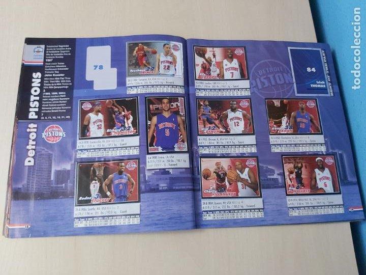Coleccionismo deportivo: ALBUM BASKETBALL STARS 2009 10 NBA PANINI - INCOMPLETO MUY BUEN ESTADO - Foto 11 - 213446461